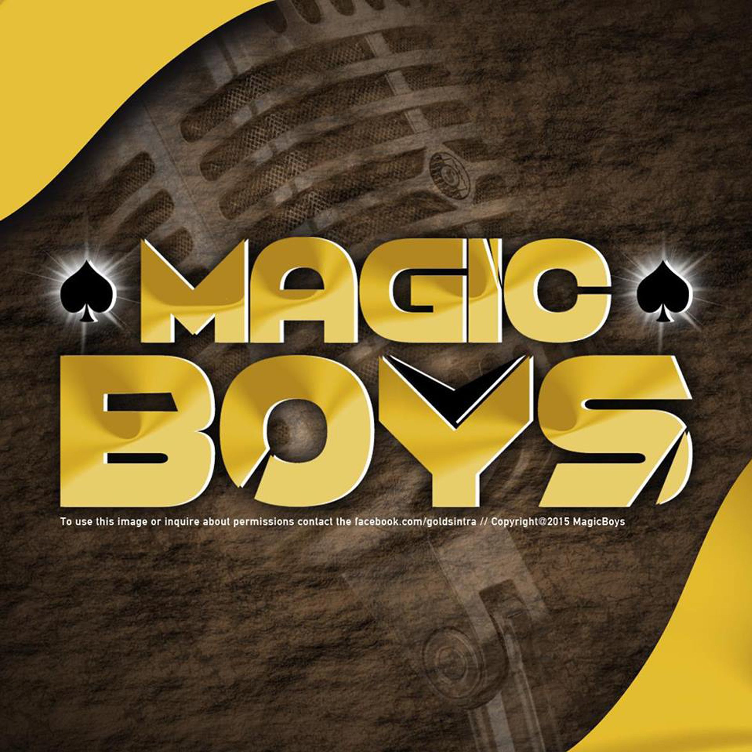 Capa Magic Boys