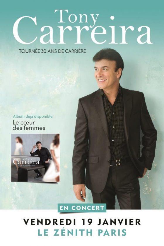 Tony Carreira - Zénith de Paris