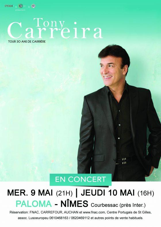 Tony Carreira - Nîmes - concert