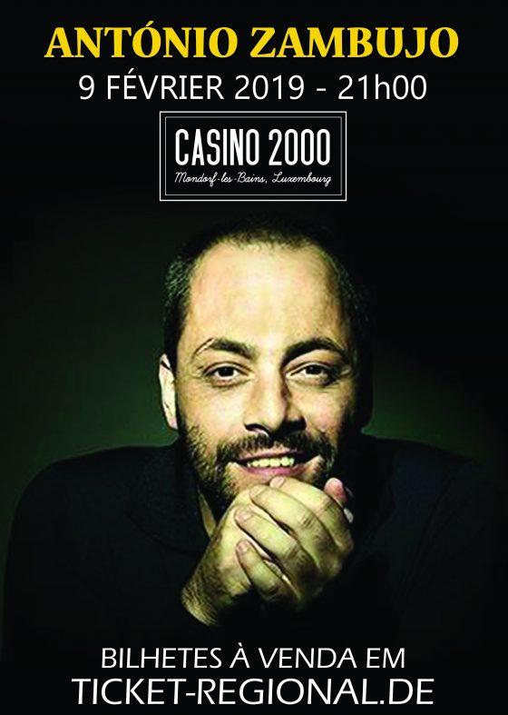 António Zambujo Casino 2000
